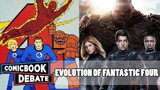 Evolution of Fantastic Four in Cartoons, Movies & TV in 8 Minutes (2018)