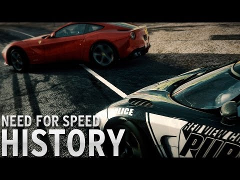 History of Need for Speed 1994 2014