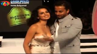 Kangana Ranaut on Ramp - Blenders Pride Fashion Tour 2012 Day 1
