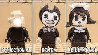 [Lego Bendy] All Characters Lego Bendy and the Ink Machine 1-4