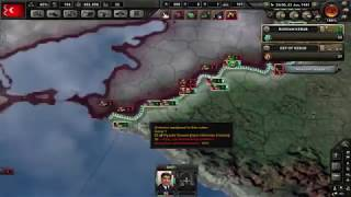 MAKE TURKEY GREAT AGAIN HEARTS OF IRON 4 TIMELAPSE