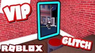 GLITCHING INTO VIP ROOM IN ROBLOX ASSASSIN!! (NO VIP)