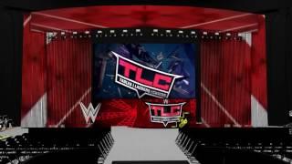 WWE Stage Animation | AJ Styles Vs. Dean Ambrose (TLC 2016)