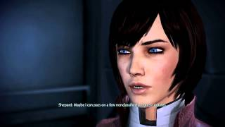 Mass Effect 3 - Kicking Diana Allers