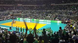 UAAP 78 - Their Last Introduction as a Lady Spiker (Mika Reyes, Ara Galang, Cyd Demecillo)