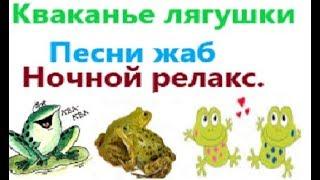 Кваканье лягушки. Песни жаб. Ночной релакс. Деревенские будни. Жизнь в деревне.