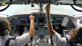 JUST ENJOY! Interjet Sukhoi Superjet planes ULTIMATE COCKPIT MOVIE [AirClips full flight series]