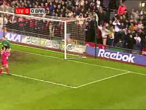 Liverpool vs Barcelona - 2001