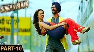 Singh Is Bliing (2015) | Akshay Kumar, Amy Jackson, Lara | Hindi Movie Part 10 of 10 | HD 1080p