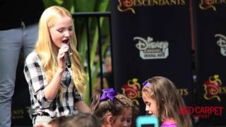 Dove Cameron Singing her song