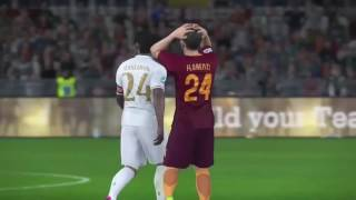Pro Evolution Soccer 2017 AS Roma vs AC Milan ML