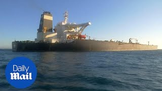 Iranian oil tanker leaves Gibraltar one month after being seized