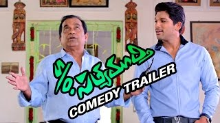 S/O Satyamurthy Telugu Movie | Comedy Trailer | Allu Arjun | Samantha | Trivikram