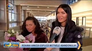 FanArena (24.10.2018) - Primele reactii ale Roxanei Vancea la intoarcerea in ROMANIA! Partea 5