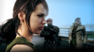 Metal Gear Solid V: The Phantom Pain | All QUIET Cinematic Cutscenes [MGS5]
