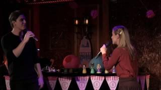 Christy Altomare and Derek Klena -