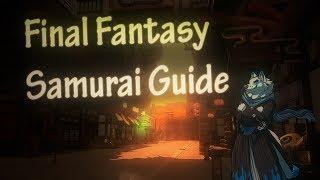 Xuen   Final Fantasy Stormblood lv 50 Samurai Guide   Rotation/Burst and more (beginners guide)
