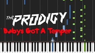 The Prodigy - Baby's Got A Temper [Piano Tutorial] (♫)