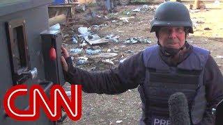 CNN team near crossfire in eastern Syria