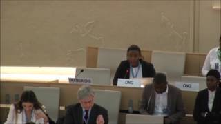 Adoption of UPR outcome of Zimbabwe | HRC 34