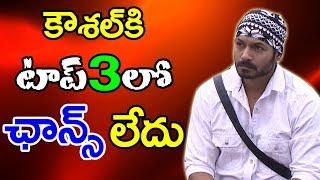 Bigg Boss 2 | Kaushal No Chance in Top 3 | కౌశల్ కి టాప్ 3 లో ఛాన్స్ లేదు ..