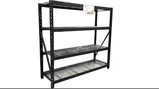 Costco's Industrial Storage Shelf Rack review