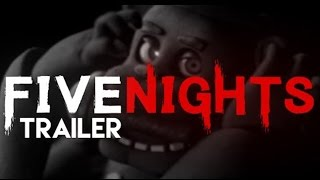 FIVE NIGHTS AT FREDDY'S OFFICIAL MOVIE TRAILER / TRAILER OFICIAL DE LA PELICULA | ZellenDust