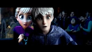 Jack Frost and Elsa ❄ Titanic Trailer {Non/Disney Crossover}