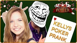 Kelly MissesVlog Let's Play Poker #6 Prank - InEar / Knopf im Ohr