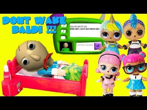 DON T WAKE BALDI Baldi s Basics Game LOL Punk Boi Unicorn Boi Teacher s Pet