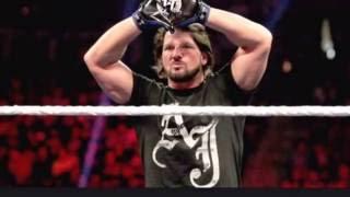 WWE AJ Styles theme Slowed down