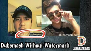 How To Download Dubsmash Without Watermark || by Sunil Santhosh