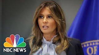 Melania Trump Condemns