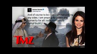 Selena Gomez Weighs in on Mideast Crisis ... FINALLY.   TMZ