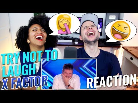 Try Not to Laugh or Cringe X Factor REACTION