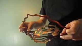 How To Fan Open Shipityourway 3D Wind Spinners Spread Metal Rings Unfold Straighten Fix