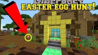 Minecraft: EASTER EGG HUNT!!! - Custom Map