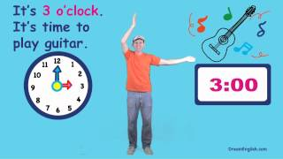 What Time Is It? Song for Kids | Preschool, Kindergarten, Learn English Children