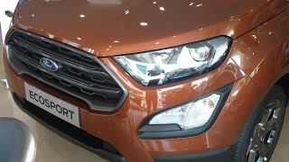 2018 New Ford EcoSport with Fun Roof-  Titanium S  - First Walkaround Video !!