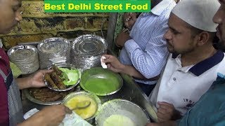 Best Seekh Kabab | Qureshi Kabab Corner | Street Food Jama Masjid Delhi