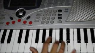 Tiger song in piano by sumit soni || S. K. MUSIC || s. k. music || tiger dance || s.k.music ||