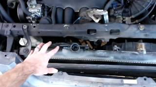 2002-2004 Honda CR-V Radiator Replacement 02 03 04 overheating, coolant/antifreeze leak