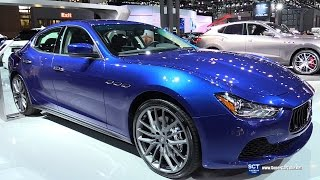 2016 Maserati Ghibli - Exterior and Interior Walkaround - 2016 New York Auto Show