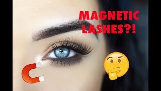 NEW Ardell Magnetic Lashes | Review + How to Wear Them!