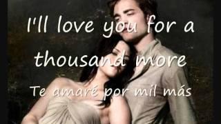 Christina Perri - A Thousand Years subtitulada español