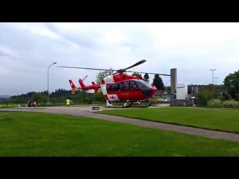 Swiss Rega air rescue EC145 start