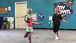 Audrey Nethery dances Ballet Zumba!!