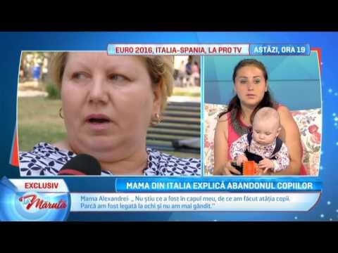 Xxx Mp4 Mama Din Italia Explica Abandonul Copiilor 3gp Sex