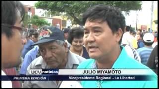 Trujillo: Autoridades regionales solucionarán huelga de Casa Grande