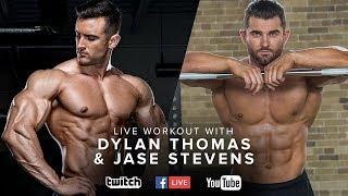 Bodybuilding Chest Workout | Dylan Thomas & Jase Stevens